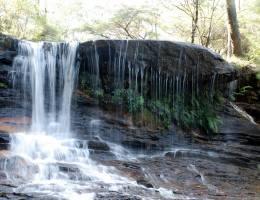 Australian waterfalls in the blue mountains