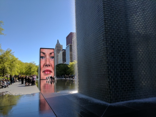Fountains digital faces