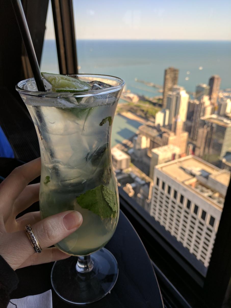 Cocktails on high